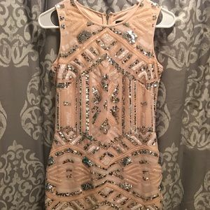 Vince Camuto Sequin Party Dress